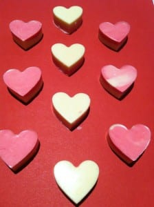 Make chocolate Valentine's with kids