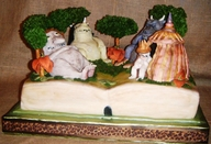 """Where the Wild Things are Cake"""