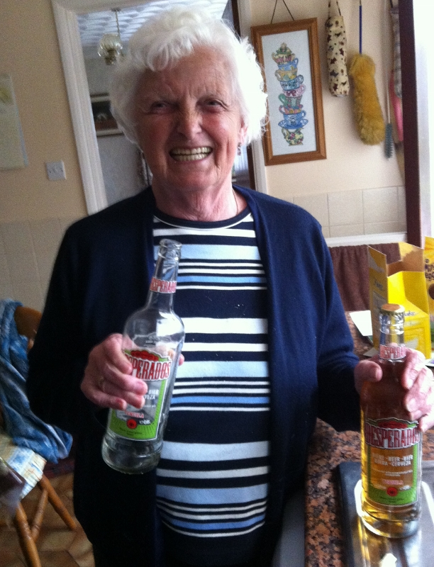 """""""Grandma on the beers"""""""