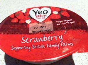 """""""Yeo Valley yoghurt"""""""