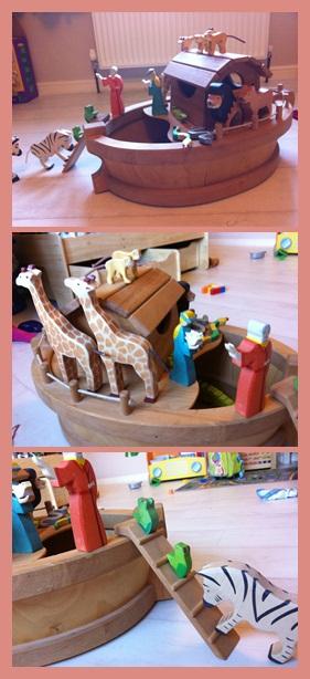 """""""Wooden Noah's Ark"""""""