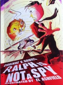 """Ralph is (not) a Spy children's book"""