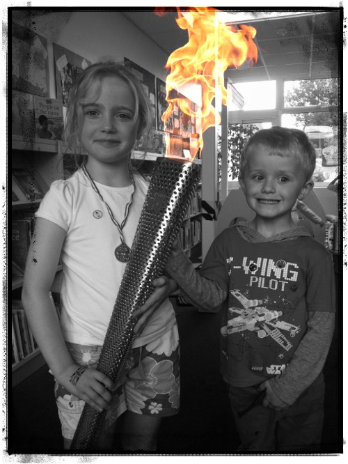"""olympic torch"""