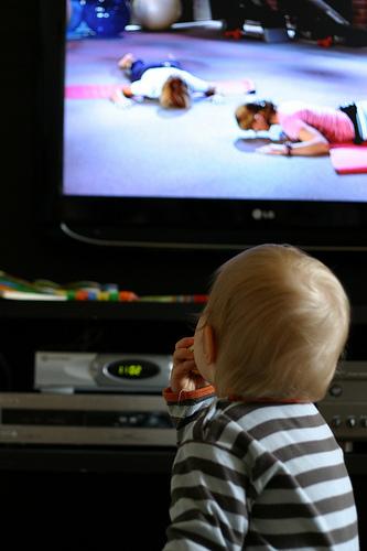 """""""Baby watching TV"""""""