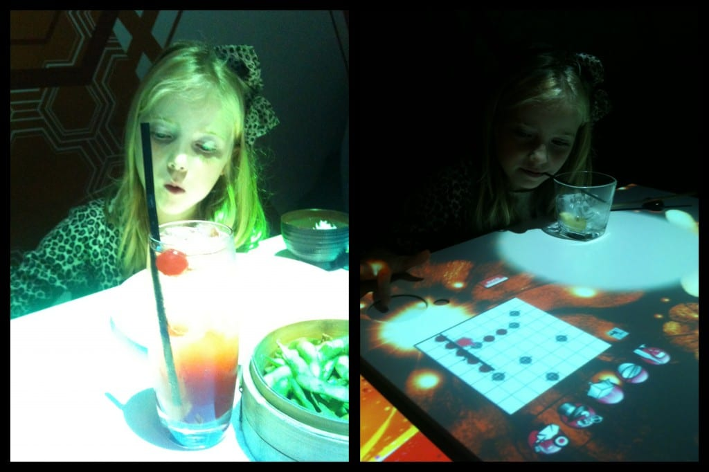 """Inamo restaurant with interactive tables"""