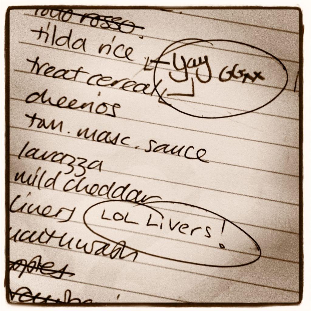 """funny shopping list"""