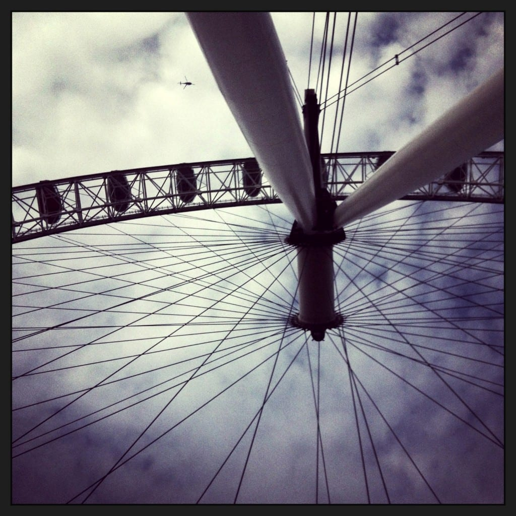 """London with kids: London Eye"""