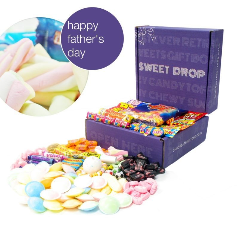 """retro sweets hamper fathers day gift"""