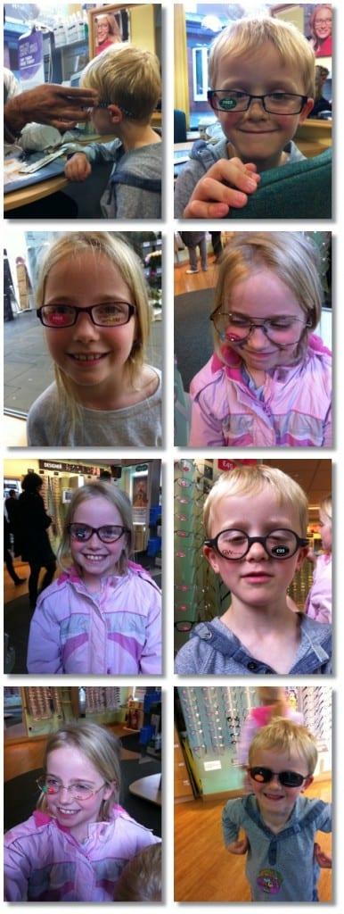 """""""Do I need glasses Mummy?"""""""