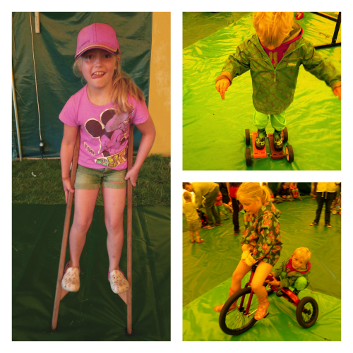 Circus Skills at the Just So Festival