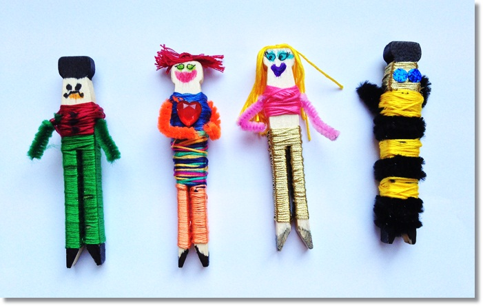 How to Make your own Worry Dolls