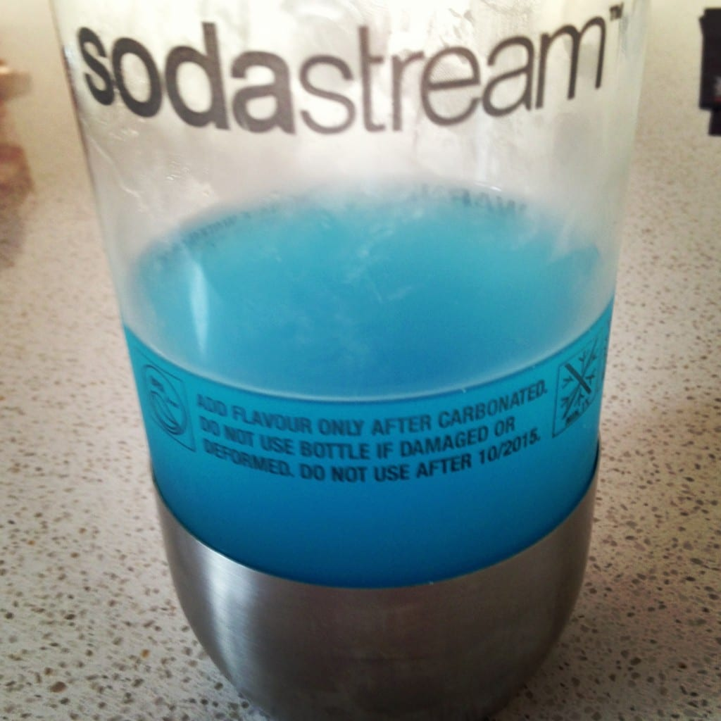 Sodastream flavours - Blueberry Isotonic
