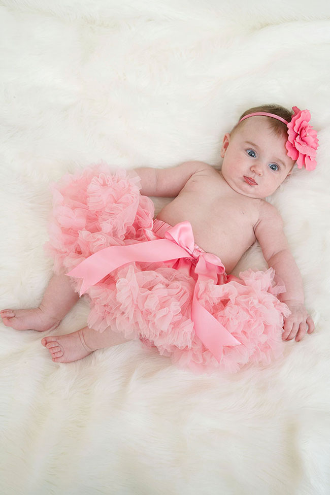 Adorable! Pettiskirt tutu for a baby!