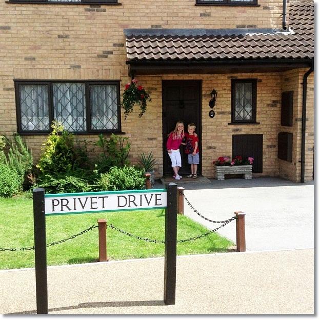 Harry Potter Studio Tour Privet Drive