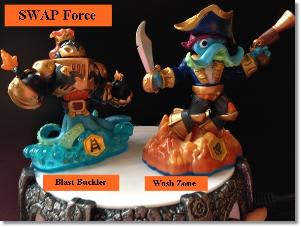 Skylanders SWAP Force characters