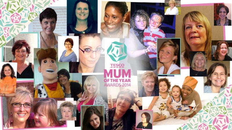 Tesco Mum of the Year 2014 Shortlist