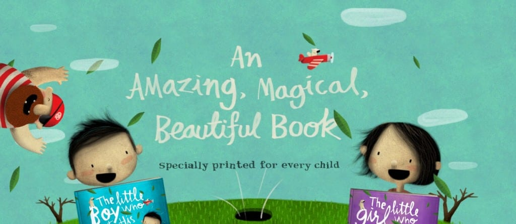 The most beautiful personalised children's book I've ever seen