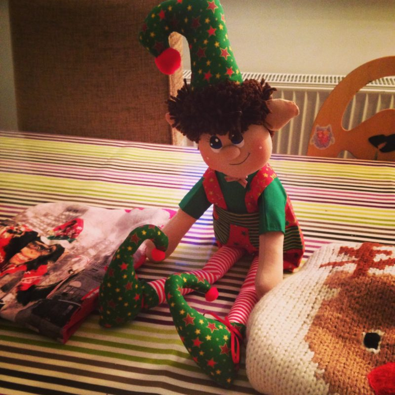 Elf on the shelf Christmas 2013