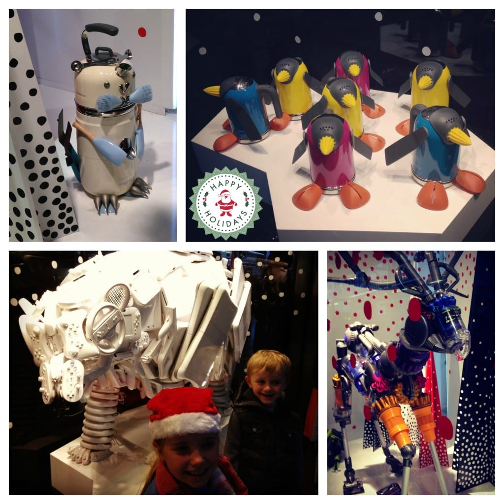 John Lewis windows Christmas 2013