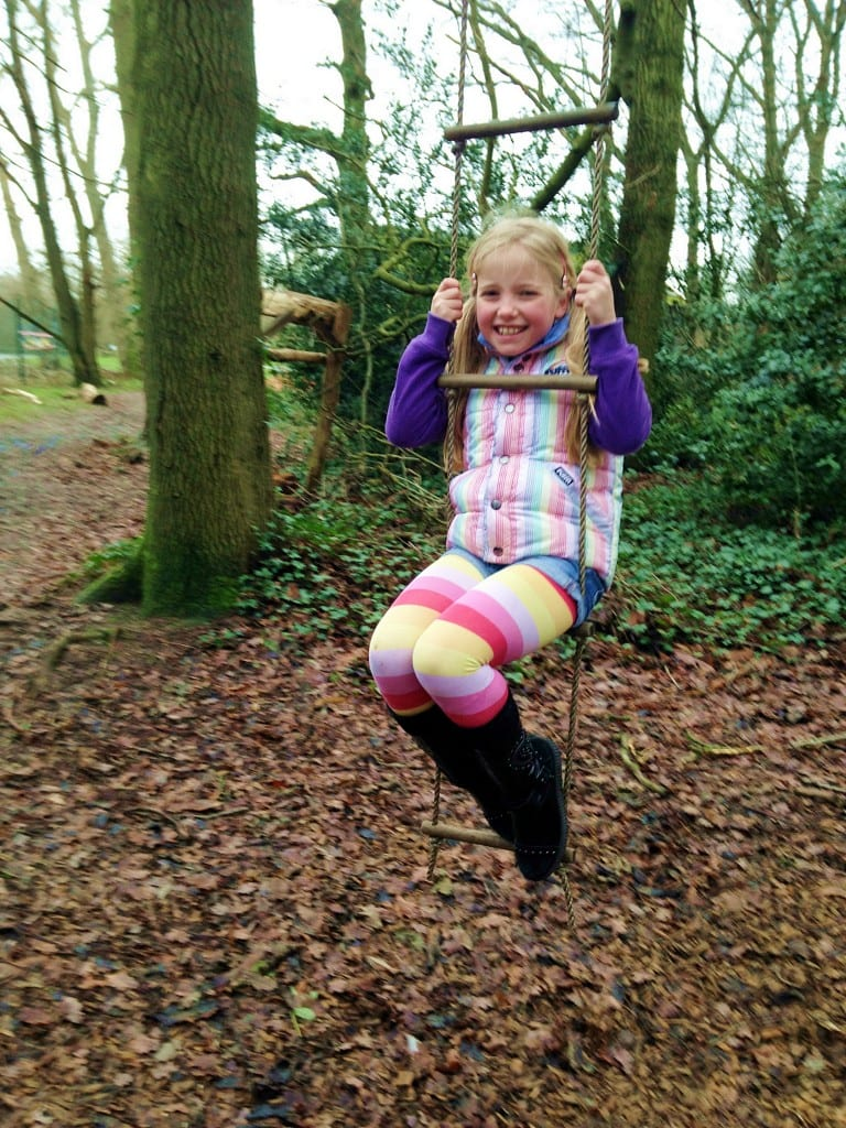 Adventure playground at Aldenham Country Park