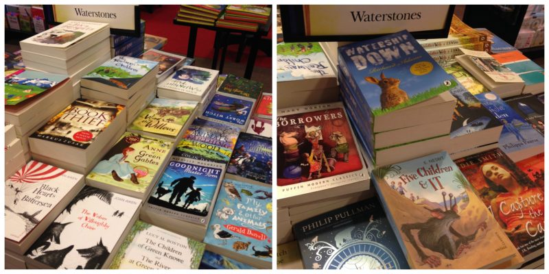 Children's classic fiction reading list at Waterstones