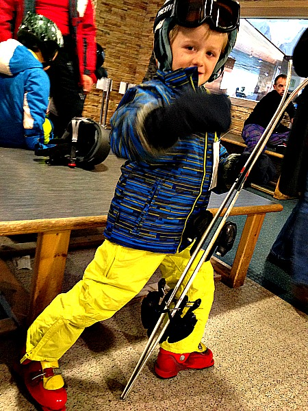 Children's ski gear