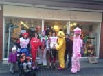 St Albans #TeamHonkRelay bloggers with Cuthbert's Toys and the Mayor of St Albans