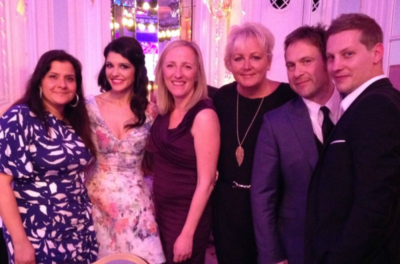 Soap stars at the Tesco Mum of the Year Awards 2014