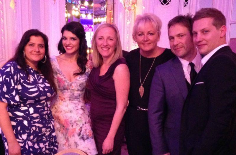 Soap stars at the Tesco Mum of the Year Awards 2014