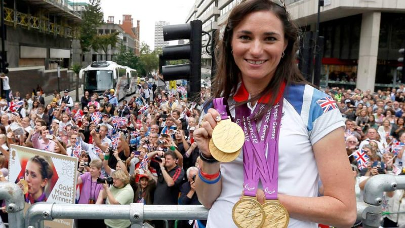 Dame Sarah Storey: Tesco Celebrity Mum of the Year 2014