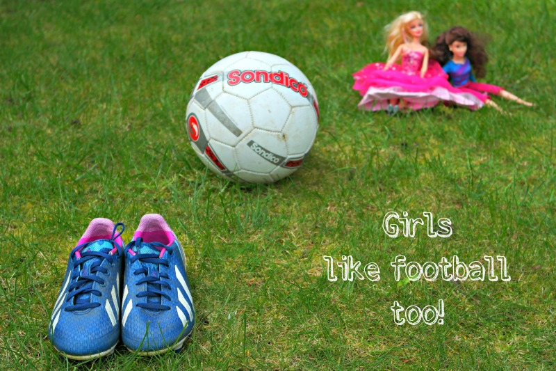 Girls are amazing - they like football!