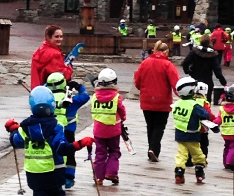 First ski lesson with Mark Warner in Val d'Isere