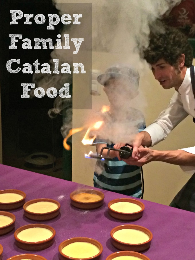 Crema Catalana - cooking proper Catalan food in the Costa Brava