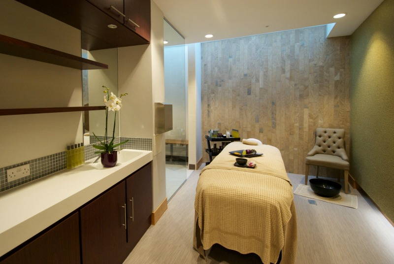 The Verulamium Spa at Everyone Active Westminster Lodge Leisure Centre - treatment room