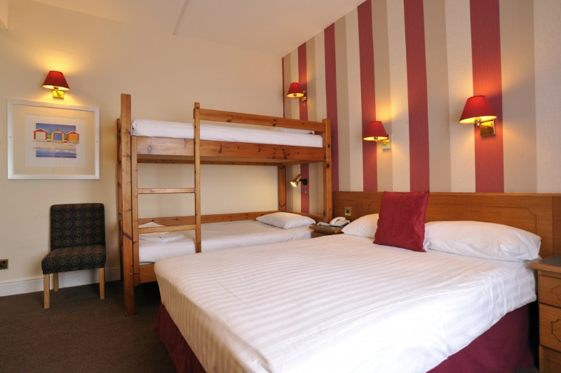 Cliffs Hotel Blackpool accommodation for families