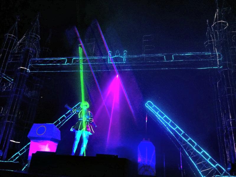 Illuminasia Blackpool laser light show