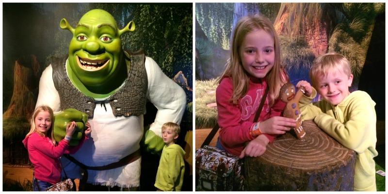 Shrek at Madame Tussauds Blackpool