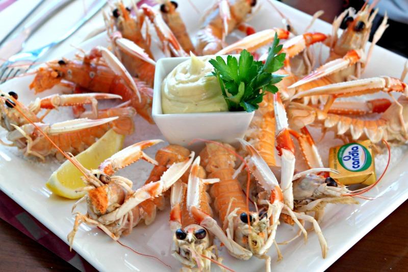 Crayfish starter #TasteofTravel