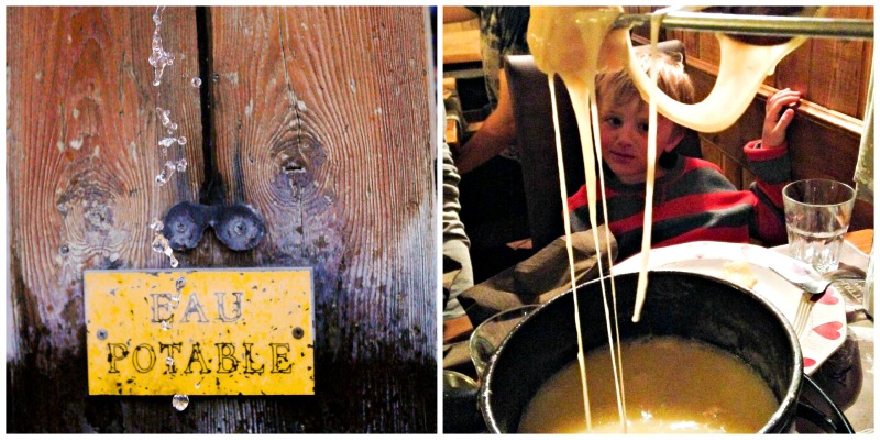 Cheese Fondue in Savoie #TasteofTravel