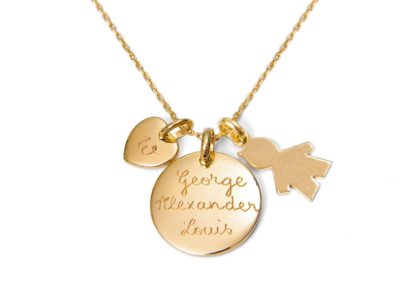 The duchess necklace, inspired by Kate Middleton - a beautiful gift for Mother's Day