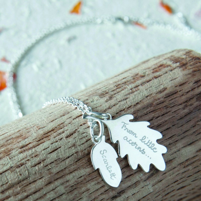 Gorgeous necklace for a Mother's Day gift from Merci Maman