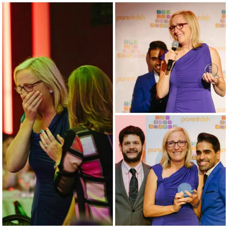 Winning Best Schooldays blog at the MAD blog awards was an emotional moment