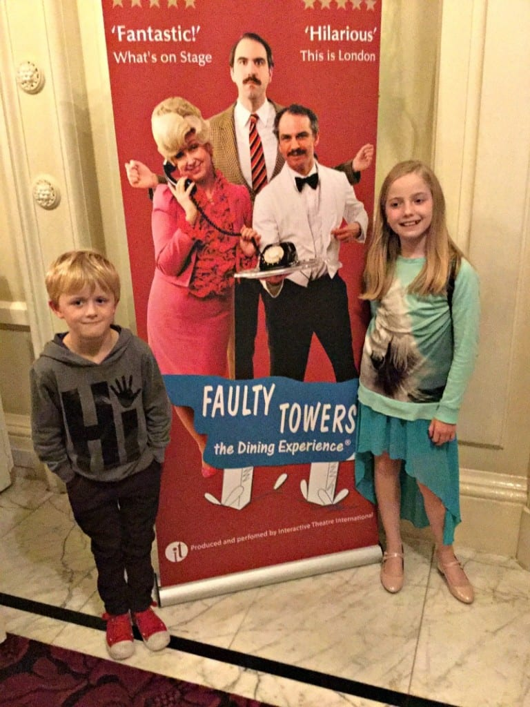 A review of the Faulty Towers Dining Experience at the Amba Hotel Charing Cross