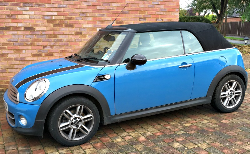 Giving my Mini Cooper the attention it needs
