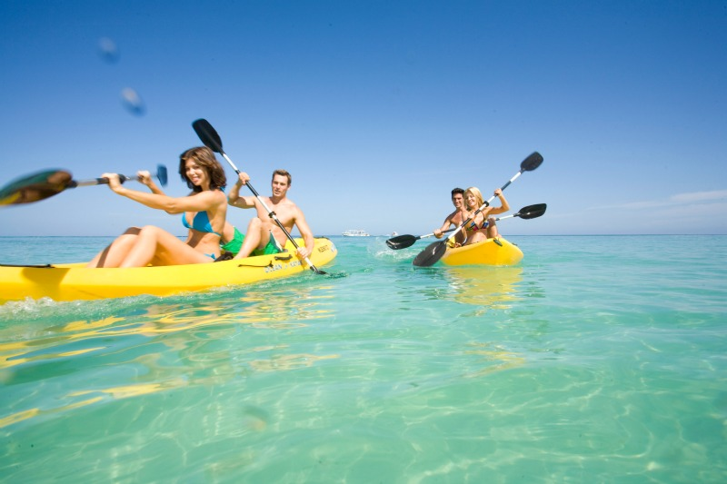 With Luxury Included, all your water activities are included in the cost of your holiday