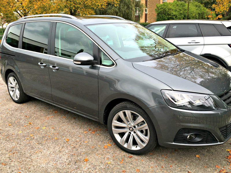 The new SEAT Alhambra family car is spacious, but it does't look too big