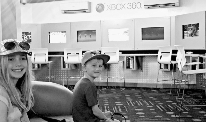Best things for kids at Beaches Resorts Negril - the Xbox lounge