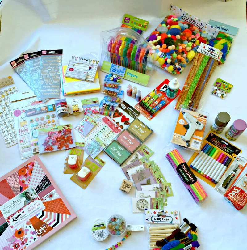 Craft materials and ideas for kids and teens