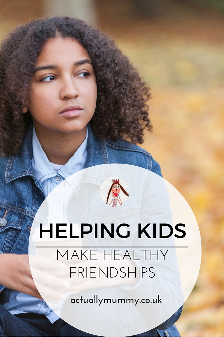 Genius cards for helping kids make healthy friendships