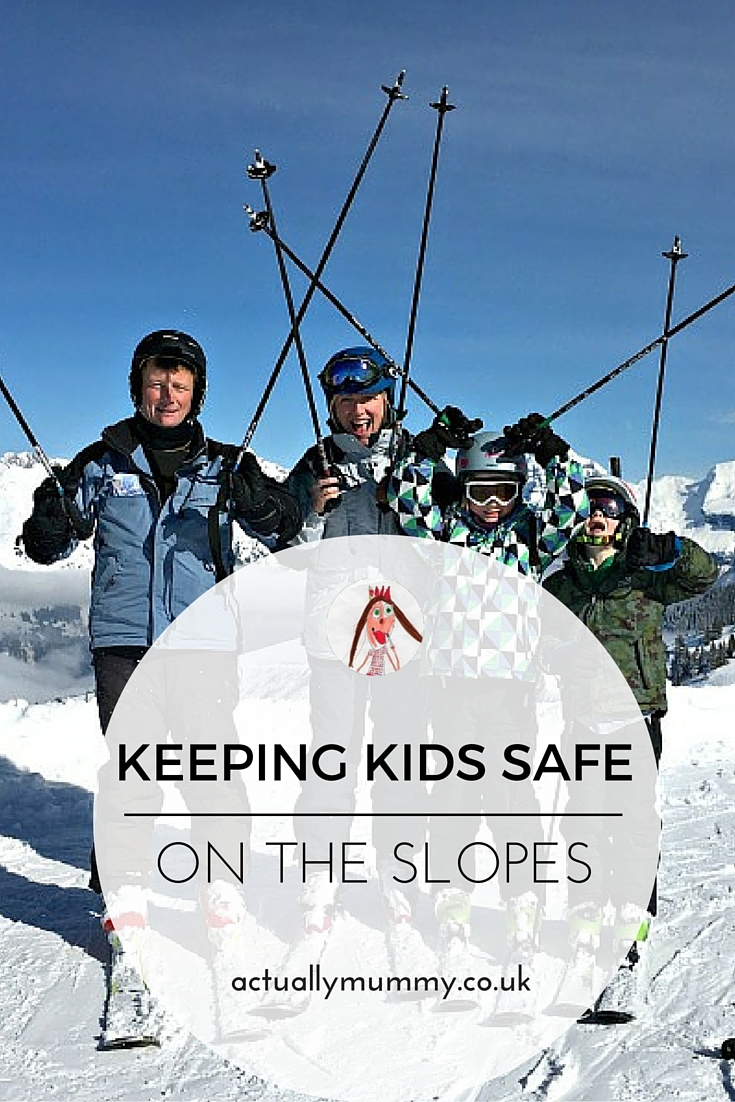 Tips for keeping children safe on a ski holiday